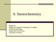 Chapter09- Stereochemistry