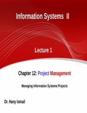 1-IS II - lecture 1.ppt