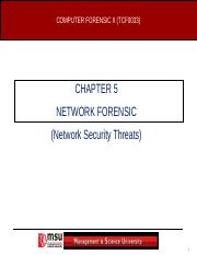 CHAP 5 - NETWORK FORENSIC.ppt