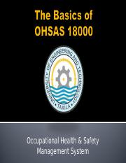 Basics-of-OHSAS-18001