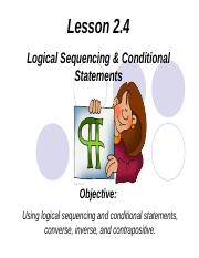 Conditional Statements and logical order.ppt