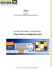 PCIP3.0 Certification Tests