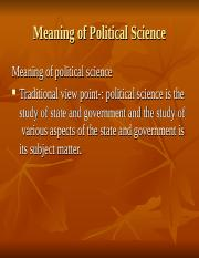 Political science.ppt