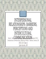 ECE 215 Class 2 PPT (1) pptx - INTERPERSONAL RELATIONSHIPS