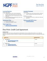 Credit #3: Credit Card Agreement.docx