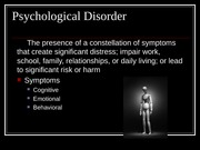 Psychological Disorders for posting