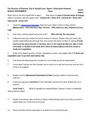WORKSHEET_Physics_of_Exercise_Diet_Weight_Loss.rtf