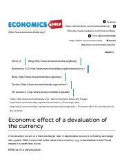 Economic effect of a devaluation of the currency _ Economics Help.pdf