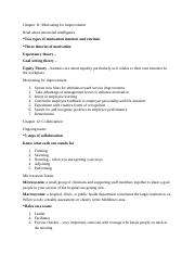 Health Administration notes Chp 11, 12, 14