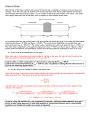 BMES 345 Summer 2014-15 Solutions Exam 2