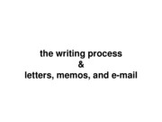 Lecture 1_WP memos email