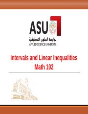 Intervals and Inqualities Lecture.ppt