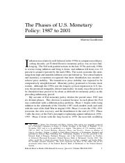 phases of monetary policy