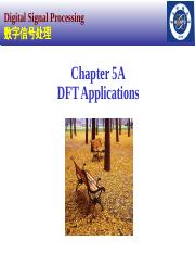 2014-Chapter 5A-DFT Applications
