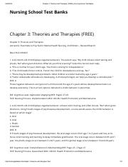 03.Chapter 3_ Theories and Therapies (FREE) _ Nursing School Test Banks.pdf
