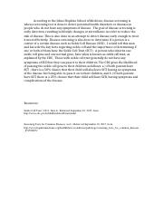 Discussion 2 - Prevention of Diseases.docx