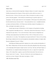 CPO4057 - Tibet Policy Paper - Final Draft