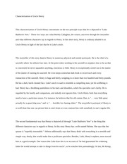 Characterization of Uncle Henry Essay