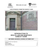 Health Law Subject Guide October 2017_FINAL.doc