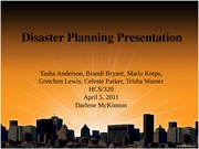 Team+A+Preparing+Organizations+for+DisasterPlanning