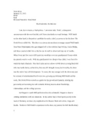 Personal Narrative (Final)