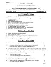 (www.entrance-exam.net)-Karunya University Civil Engineering- Highways And Railways Engineering Samp