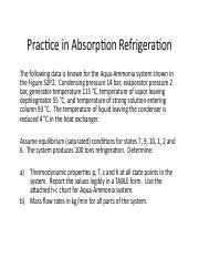 Problems in Absorption Refrigeration HW.pdf