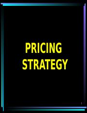 CHAP 11  Pricing strategy.ppt