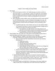 Outline Ch 13