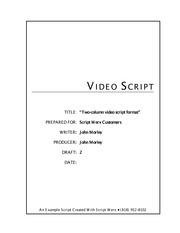 5 Pages Video Script