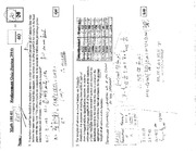 MATH 101 Replacement Quiz  Solutions Spring 2014