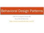 L16-BehavioralDesignPatterns
