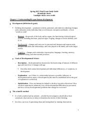 Psy 301 Final Exam Study Guide.docx