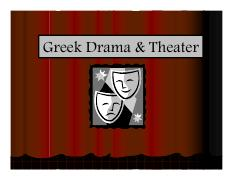 Introduction to Greek Drama and Theater PowerPoint Notes.pdf