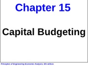 INEG 2413 Fall 2011 Chapter 15 Handout Slides (09-06-2011)