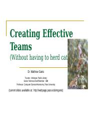 Creating Effective Teams-final-v2l.ppt
