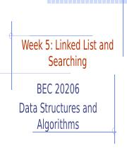 Week 5_Linked List and Searching (1)
