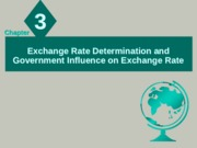 Chapter - 04 & 06 (Exchange Rate Determination & Goverment Influence on Exchange Rate)