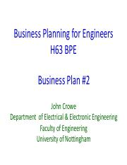 4 pdf - Business Planning for Engineers H63 BPE Finance 2