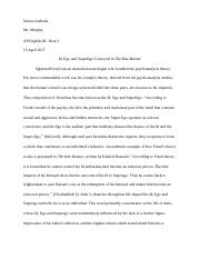 Andrade, Selena - Research Paper