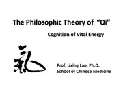 Lecture 2_The Philisophical Theory of Qi