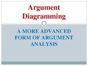 Argument Diagramming Introduction