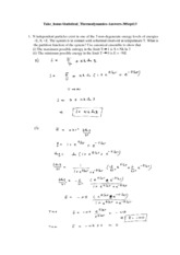 Take_home-Statistical_Thermodynamics-Answers-30Sept13