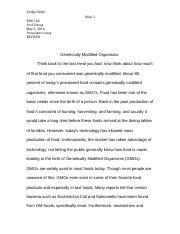 escape from the western diet essay mendoza ruiz sam mendoza  5 pages persuasive essay gmo s