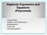 (7) Powerpoint 3 - Chapter 1 Algebraic Expression and Equation _Polynomial_Fam 015