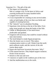 world civ egypt 1 notes.docx
