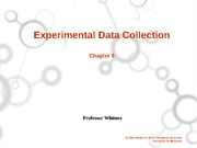 Experimental Data Collection