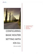 1.1.4.6 Lab - Configuring Basic Router Settings with IOS CLI.docx