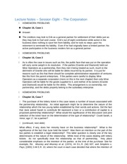 Lecture Notes - Lecture 8 - Corporations