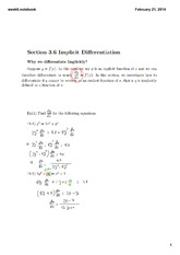 Week 6-3 Lecture on Engineering Math 1